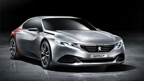Peugeot Exalt, le coupé 4 portes du Lion | Automobile | Scoop.it