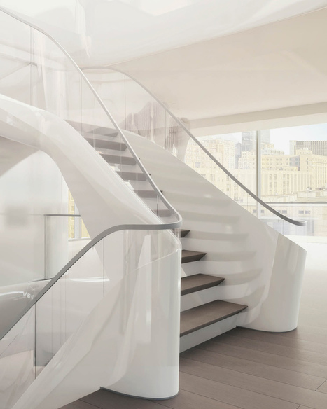 inside zaha hadid's 520 west 28th in new york | World Architecture | Scoop.it