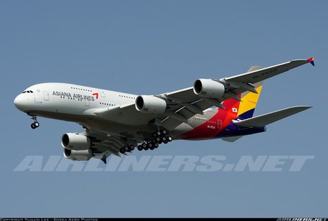 Photos: First Asiana Airbus A380-841 | Aviation & Airliners | Scoop.it