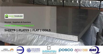 ASTM A240 Stainless Steel 317L Sheets &amp; Plates Supplier &amp; Exporter<br/>&hellip; | Gaurav Steel | Scoop.it