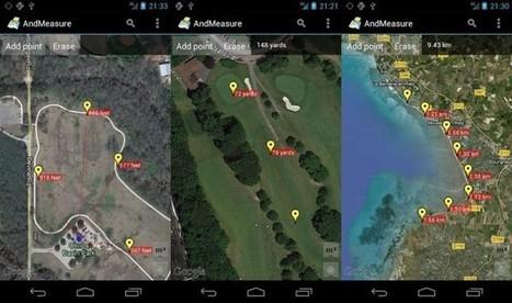 Medir distancias con el GPS del móvil: Planimeter GPS y AndMeasure | Geografia | Scoop.it