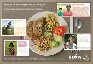 This World Food Day: Dedicate your Sunday dinner to farmers — Oxfam America   Food issues   Scoop.it
