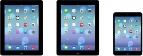 Apple publie des photos d'iPad avec iOS 7 embarqué! - Le Soir | Apple fans | Scoop.it