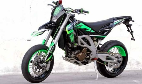 Modifikasi Kawasaki Trail Klx 250 Trail Kawasaki Klx 250 th