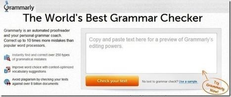 Check Grammar And Spelling Mistakes With Grammarly | PowerPoint Presentation | Get your Write Up! | Scoop.it