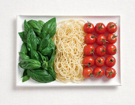 National Flags Made From Each Country's Traditional Foods | De l'art | Scoop.it