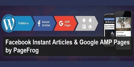 PageFrog personnalise vos pages AMP et Facebook Instant Articles via WordPress | Chiffres et infographies | Scoop.it