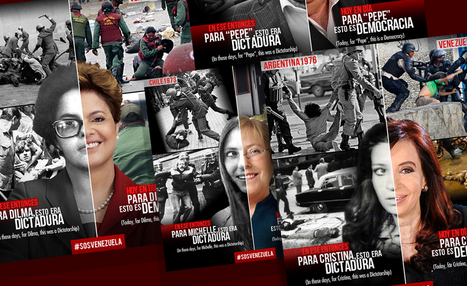 Las dos caras de los presidentes latinoamericanos (Fotomontajes de @_Calavera_)   Venezuela Despierta #LaSalida   Scoop.it
