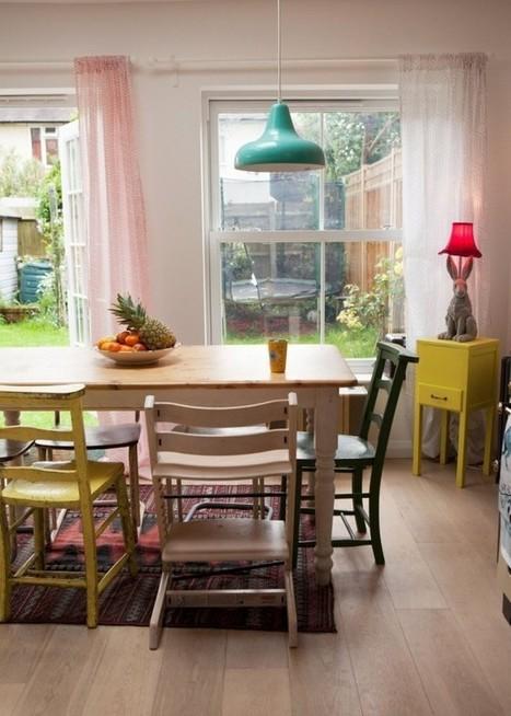 Visite – un cottage coloré – Cocon de décoration: le blog | Décoration | Scoop.it
