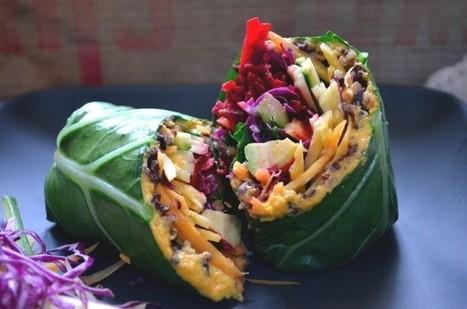Delicious Vegan Wraps | My Vegan recipes | Scoop.it
