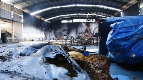 70% de los equipos de gimnasia se perdieron en el incendio en La Victoria | Revista Magnesia | Scoop.it