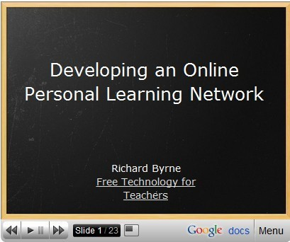 Developing an Online Personal Learning Network | librariansonthefly | Scoop.it