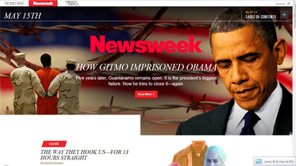 Un design all'avanguardia per il Newsweek digitale | LSDI | Giornalismo Digitale | Scoop.it