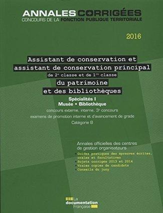 [Parution] – Assistant territorial de conservation du patrimoine et des bibliothèques   Biblio Concours   Préparation aux concours   Scoop.it