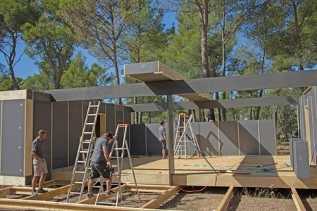 Sustainable home can be built in four days using only a screwdriver | Living Little | Scoop.it