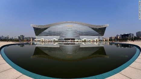 World's largest building opens in China - CNN International | Interesting Construction Stuff! | Scoop.it