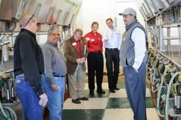 'From crops to cows to cream': Milking center dedication highlights N.C. State's innovative approach to dairy science and education | Research from the NC Agricultural Research Service | Scoop.it