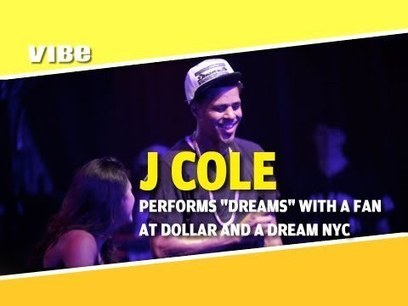 "J Cole Performs ""Dreams"" At His Dollar and A Dream NYC Show - Hip Hop Videos - Exclusive Rap Songs l News 