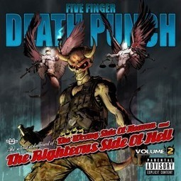 """Five Finger Death Punch » Stream """"The Wrong Side of Heaven and the Righteous Side of Hell"""" VOLUME 2 for free all week on iTunes Radio! 