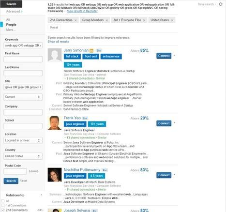 How To Recruit On LinkedIn | International Talent Acquisition Explorer | Scoop.it