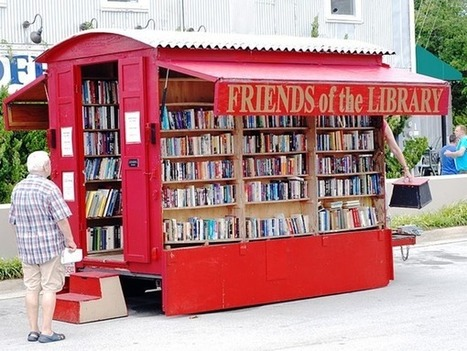 On National Bookmobile Day, 12 Amazing Bookmobiles That Show the Power of Books and Reading | Baboué ? | Scoop.it