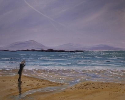 Artwork: Figure on a beach - Open House Art | Art - Crafts - Design | Scoop.it