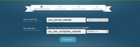 How to transfer data from Joomla to WordPress? | WordPress Pro | Scoop.it
