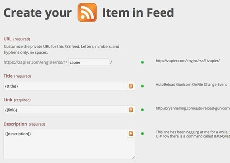 Zapier: Make Your Own RSS Superfeed [RSS mixing] | François MAGNAN  Formateur Consultant | Scoop.it