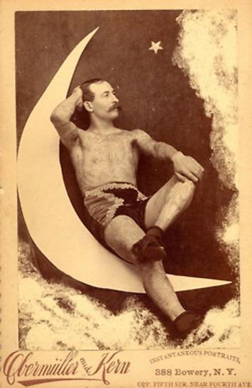 Tattooed Man on The Moon | Sex History | Scoop.it