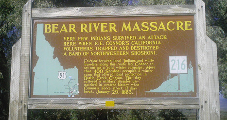 Site of Bear River Massacre Pinpointed by Historians | U.S HISTORY SHACK : MIKE BUSARELLO | Scoop.it