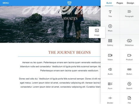 Introducing Weebly for iPad, the Newest Member of the Family | ICT & Social Media in Education | Scoop.it