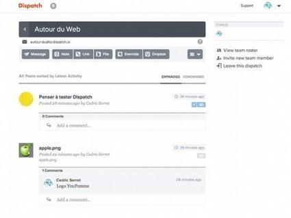 Dispatch.io, combiner et partager des ressources Evernote, Dropbox, Google Drive et Box | Autour du Web | Mes outils du web | Scoop.it