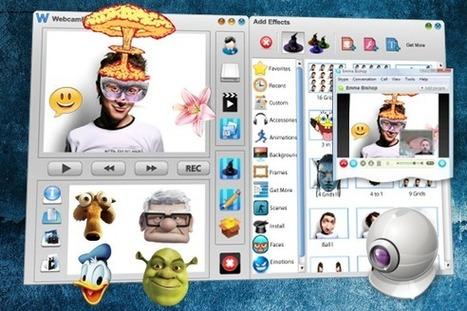 Ajouter des effets à une webcam lors d'une conversation vidéo   PersoFred15   Scoop.it