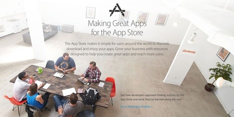 Apple unveils redesigned webpage sharing details on how to succeed in the App Store   iPhone Marketing   Scoop.it