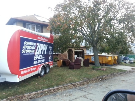 #HurricaneSandy clean-up necessities: 1) a dumpster; 2) Zippy Shell Mobile Storage | Charming Chapel Hill & Durham | Scoop.it