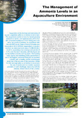 The Management of Ammonia Levels in an Aquaculture Environment - Pollution Solutions | Aquaculture (Global Aqua Link) | Scoop.it