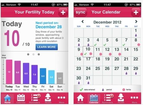 Ovuline app permite aprovecha los datos reproductivos para ayudar a las parejas a concebir | Las Aplicaciones de Salud | Scoop.it