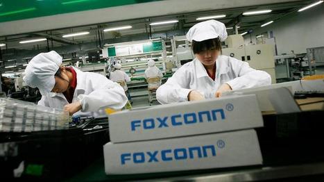 Foxconn : le fabricant de l'iPhone remplace 60.000 ouvriers par des robots | Retail' topic | Scoop.it