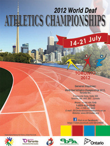 Coming soon - World Deaf Athletics Championships | Deaf Action | Scoop.it