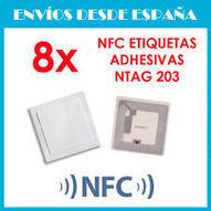 8 x NFC Etiquetas ADHESIVAS NTAG203 | TAG tags | Samsung S4 Nexus 4 Nokia LG HTC | Cacharros | Scoop.it