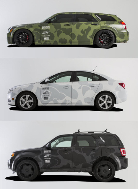 DISTINCT LIFE X AGI CUSTOM CAR WRAPS ~ Grease n Gasoline | Warren55 | Scoop.it