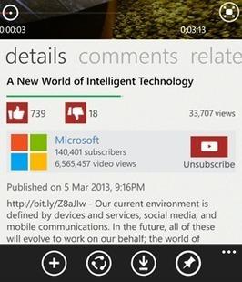 Google pide a Microsoft que pare de ofrecer en Windows Phone un Youtube sin sus anuncios | Social Media, Marketing Online, TICs | Scoop.it