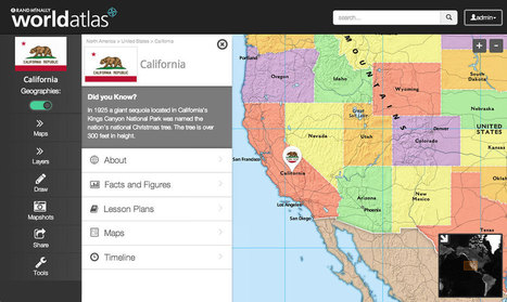 Rand McNally Education - World Atlas | Technology and Education Resources | Scoop.it