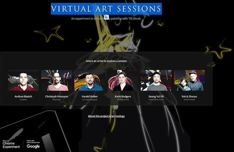 Crea y aprende con Laura: Virtual ART Sessions: #Arte y #RealidadVirtual #RV #VR con la app de Tilt Brush | RED.ED.TIC | Scoop.it