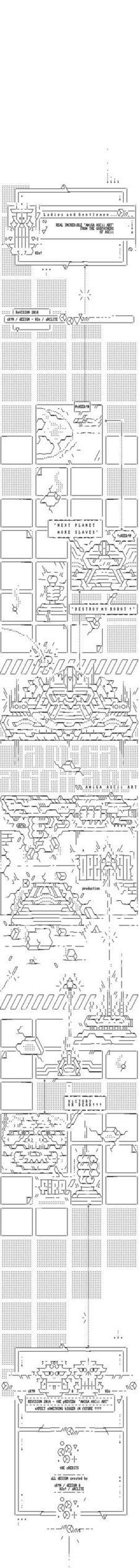 Amiga Ascii Art (Revision 2014 Entry) | ASCII Art | Scoop.it