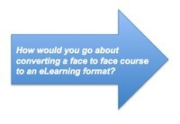 eFront Learning: How would you go about converting a face to face course to an eLearning format? | Innovations in e-Learning | Scoop.it
