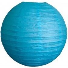 Lanterne Papier - Bleu d'Eau - 45cm - Lanternes.fr - Lanternes en papier, lampions et accessoires deco   boules japonaises   Scoop.it