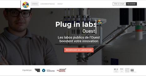Plug in labs Ouest connecte les entreprises avec les acteurs de la recherche publique bretons - Le Mag numérique | Innovation - Transfert de technologies | Scoop.it