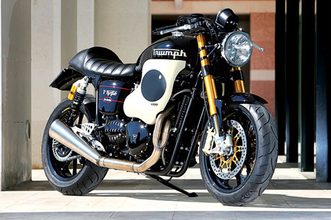 Triumph Thruxton T-Type by Mr Martini | Vintage Motorbikes | Scoop.it