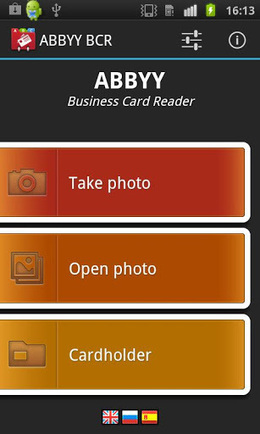 ABBYY Business Card Reader v3.1.1.9 (paid) apk download | ApkCruze-Free Android Apps,Games Download From Android Market | gardening | Scoop.it